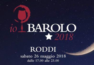 Io, Barolo 2018 – A Roddi il 26 maggio