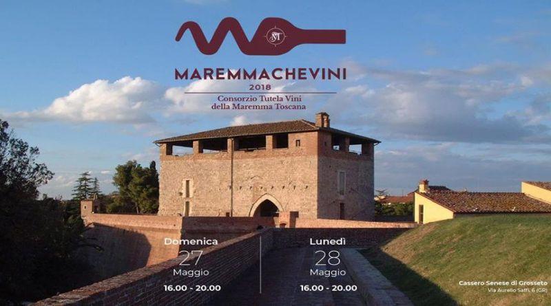 MAREMMACHEVINI 2018 – 27 e 28 Maggio al Cassero Senese di Grosseto