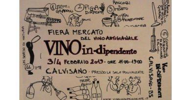 Vino In-Dipendente – Un sorso di Natura, quinta edizione del Salone del Vino Artigianale a Calvisano (BS)